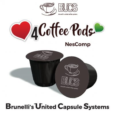 Bucs Coffee Pods - Brunellis Capsule Systems