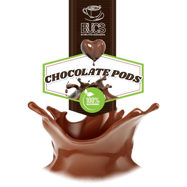 BUCS Biodegradable Chocolate Pods