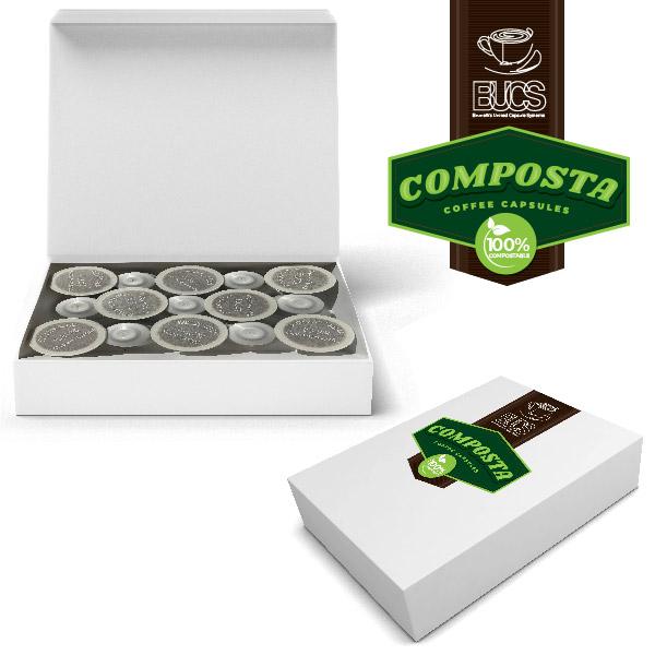 BUCS Taster Box Composta Pods - Compostable Coffee Pods Sampler